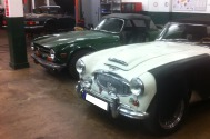 Triumph TR / Big Healey @ solid-parts
