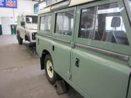 Klassische Land Rover Classic @ solid-parts